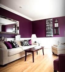 Lila Grau Wandfarbe Wandgestaltung Wohndesign Ideen