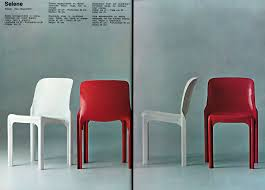 selene stackable chair artemide by vico magistretti artemide