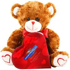 alder creek valentine teddy bear chocolates gift set 2 pc walmart