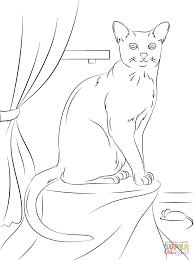 Picture Free Cat Coloring Pages 79 On Drawing With Free Cat