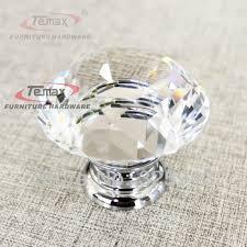 crystal furniture knobs. 30mm zinc alloy clear crystal sparkle glass kitchen cabinet knobs and handles dresser cupboard door knob furniture t