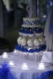 Pin By Ahisha Gore On Beach Wedding Blue Wedding Cupcakes Wedding