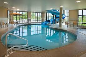 indoor pool with waterslide. Plain Indoor Courtyard By Marriott Kingston Highway 401  Division Street Indoor Pool  W Waterslide  Intended With