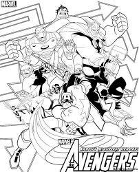 Avengers Kleurplaat Tropicalweather