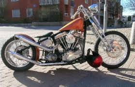 history of old school choppers