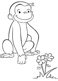 Coloring Pages Curious George Openwhoisinfo