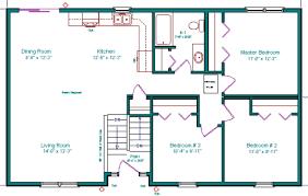 Beautiful Mini Blessings  Split Level Floor Plan