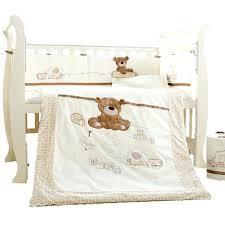 newborn bedding set cartoon cotton baby cot bedding set newborn cartoon bear crib bedding detachable quilt
