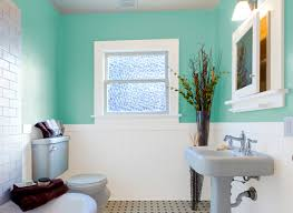 Bold teal bathroom for Your Own Home Terrific