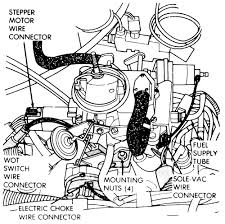 2004 toyota corolla 1 8l mfi dohc 4cyl repair guides 1 carburetor removal installation