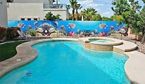 pool patio decorating ideas. Pool Patio Decorating Ideas Pinterest Mural Swimming Wall Decor Home D