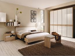 natural color furniture. Simple Natural Color Combinations Bedroom Light Brown Wall White Bedsheet Hanging Bookshelf Square Furniture R