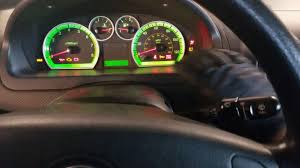 Chevy Aveo Dashboard Lights Reset Oil Light 2009 Chevy Aveo