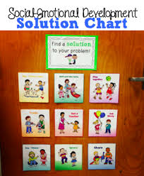 Social Emotional Growth Chart Teaching Social Emotional Skills With A Solution Chart