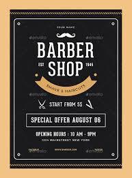24 Barbershop Flyer Psd Templates Free & Premium - Designyep