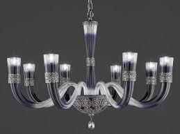 crystal chandelier with swarovski crystals dea l8 by euroluce lampadari