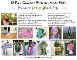Premier Sweet Roll Yarn Patterns