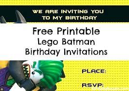 Birthday Party Invitation Card Template Free Lego Invitation Card Template Birthday Card Template Batman