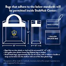 Weenie Roast 2017 Seating Chart Reminder Stubhub Center Updated Bag Policy In Effect For
