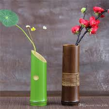 Small Picture Wholesale Handmade Japanese Bamboo Flower Vase For Home Decoration