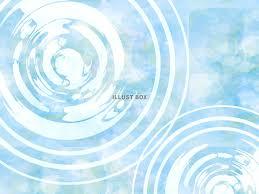 無料イラスト 水彩波背景水面波紋和和風夏梅雨イラスト手
