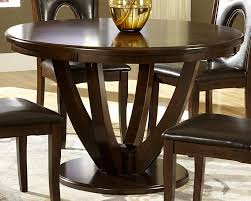 fancy 48 inch round expandable dining table 5 acme drake espresso ideas collection of