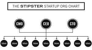 Stipster Startup Hipster Org Chart More Interns Than