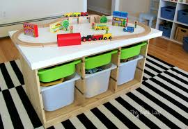 Train Set Table With Drawers Furniture Enchanting Boys Buildings Books And Berries Best Train