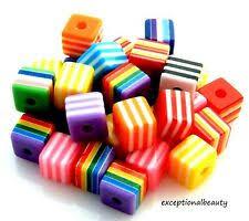 <b>Resin</b> Square <b>Jewelry</b> Making <b>Beads</b> for sale | eBay