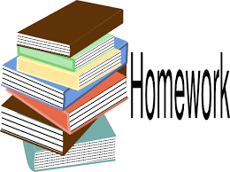 Image result for elementary students and homework tips clipart