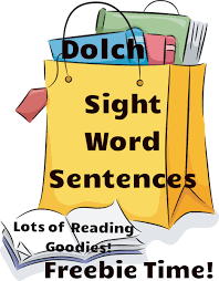 dolch primer reading resources free dolch sight word sentences readyteacher com