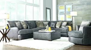 gray sectional sofa with recliner reclining chaise stunning grey dark54