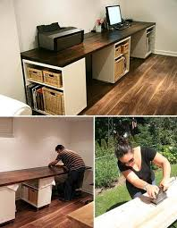 office desk ideas pinterest. incredible diy home office desk aubrey lindsays beautiful diy basement studio crafts ideas pinterest