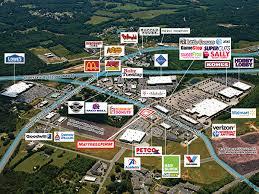 Mattress Firm  Kannapolis NC  Aerial