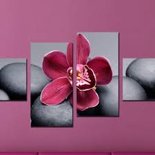 800x800 decorative wall panels with orchid 800x800 canvas wall art decoration set