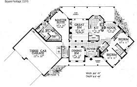 house plan 90211 southwest style with