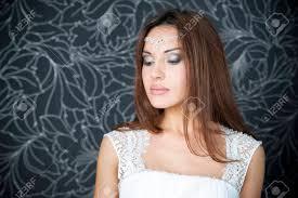 Professional Mariée Maquillage Coiffure Portrait Dune Belle Femme Indienne