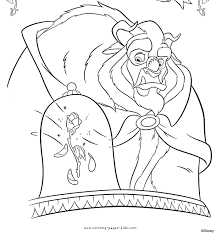 Small Picture The Beast Beauty and the Beast color page disney coloring pages