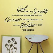 god grant me the serenity prayer bible art quote vinyl wall stickers bf on serenity prayer wall art uk with god grant me the serenity prayer bible art quote vinyl wall stickers