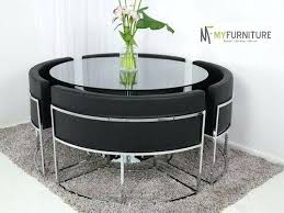 round glass table and chairs furniture surprising modern round glass dining tables adorable table modern round