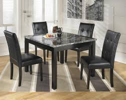 Marble Top Kitchen Table Set Signature Design By Ashley Maysville Square Dining Room Table Set