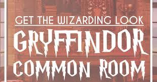 gryffindor common room inspiration