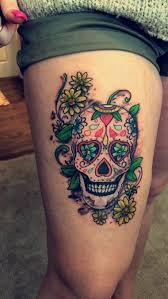 Tatouage T Te De Mort Mexicaine Signification Tendances