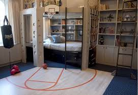 Sporty Bedroom Interior Theme Cool Bedroom Ideas for Guys Pictures