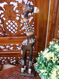 georgie the wooden giraffe 60cm