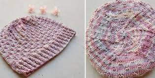 Chemo Cap Knitting Pattern Gorgeous Knitted Chemo Cap With Swirls [FREE Knitting Pattern]