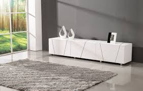 modern tv stand white. tosh furniture v9009 modern tv stand in white tv