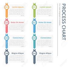 Vertical Process Chart Flow Chart Template Infographics Design