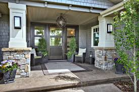 front porch designs Porch Contemporary with covered entry front door. Image  by: Rockwood Custom Homes