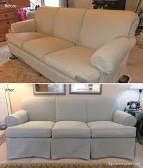 couch slipcovers before and after. Unique Couch Cot Poly Canvas Sofa Slipcover Before After For Couch Slipcovers Before And After F